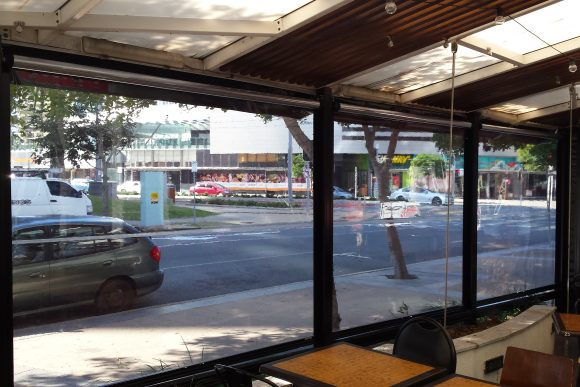 Clear PVC Bistro Awnings