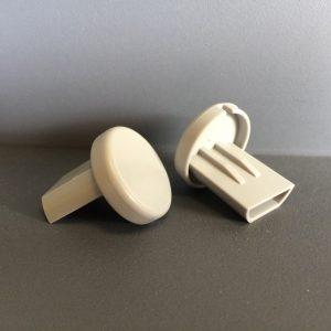 End Caps for Roller Blind Bottom Rail