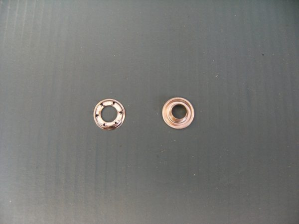 Eyelet each (two part set) Internal hole 9mm external diameter of eyelet 20mm