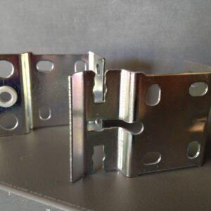 Holland Universal Bkts B Pair Silver