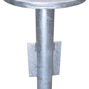 50mm Pole Stainless/Galvanised