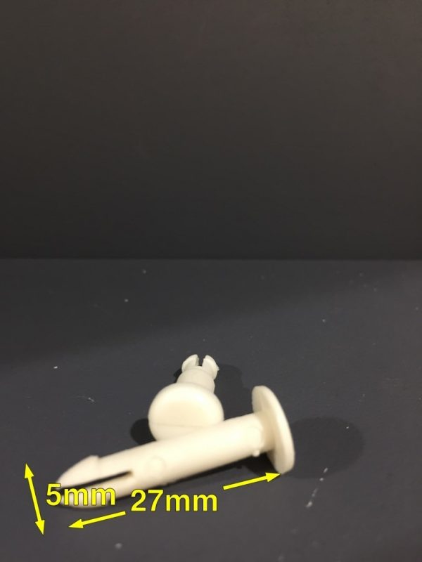 Louvre Pin Long