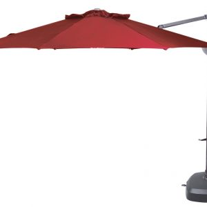 Savannah 350cm Savannah features a number of design improvements including a drop down bracket on the umbrella hub for LED light attachment. Most importantly, Savannah introduces O'bravia™ Solution dyed canvas to our range - it is a fabric that has legendary fade resist properties, exceeded only by Sunbrella acrylic. Savannah has an impressive oval section mast and a 360 degree rotate (with foot lock), press button tilt lock, crank lift opening and resin base options.