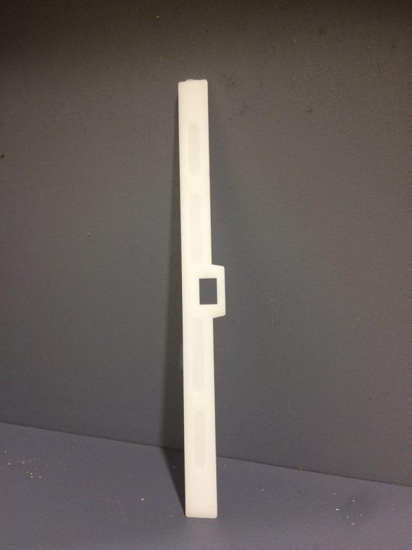 Vertical Drape Top Hanger White