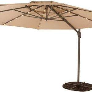 Shelta Australia Windemere (LED) Umbrella Cantilever Outside Collection (Windemere (LED) Umbrella Cantilever )