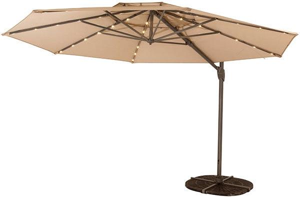 Shelta Australia Windemere (LED) Umbrella Cantilever Outside Collection (Windemere (LED) Umbrella Cantilever )