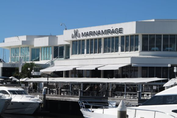 folding arm awnings marina mirage