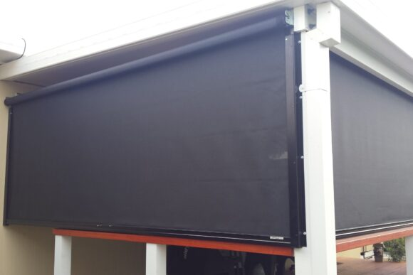 outdoor track blinds gold coast