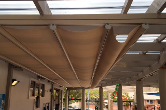 retractable awnings gold coast