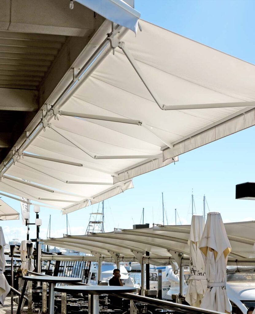retractable arm-awnings gold coast
